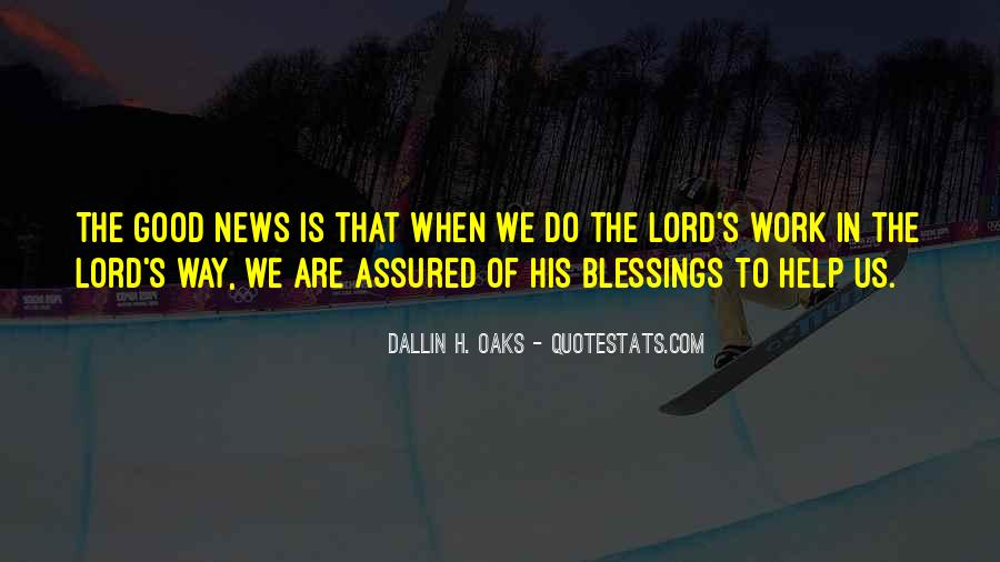 Dallin Oaks Quotes #737393