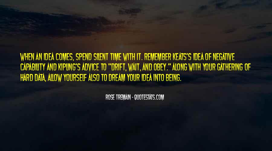 Quotes About Keats Time #1046777