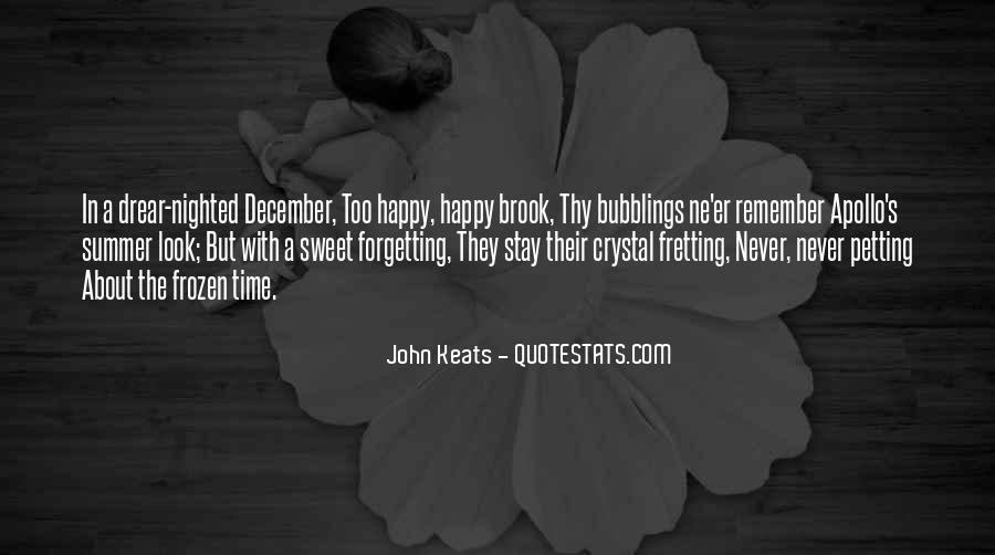 Quotes About Keats Time #1092858