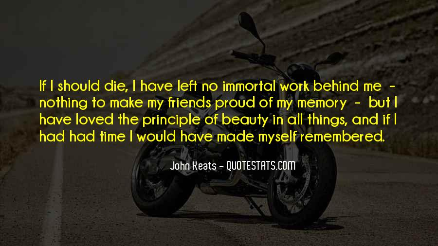 Quotes About Keats Time #1581375