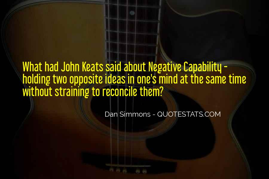 Quotes About Keats Time #447439