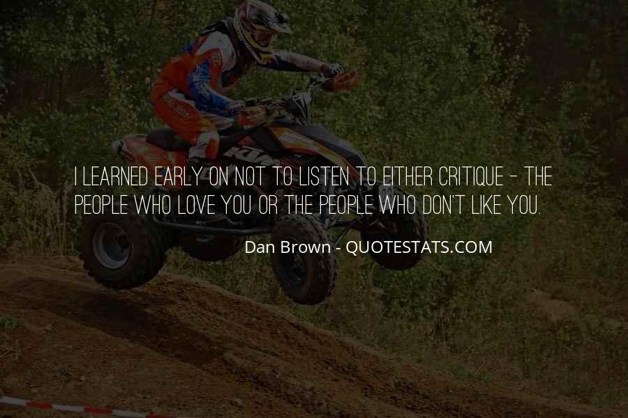 Dan Quotes #38728