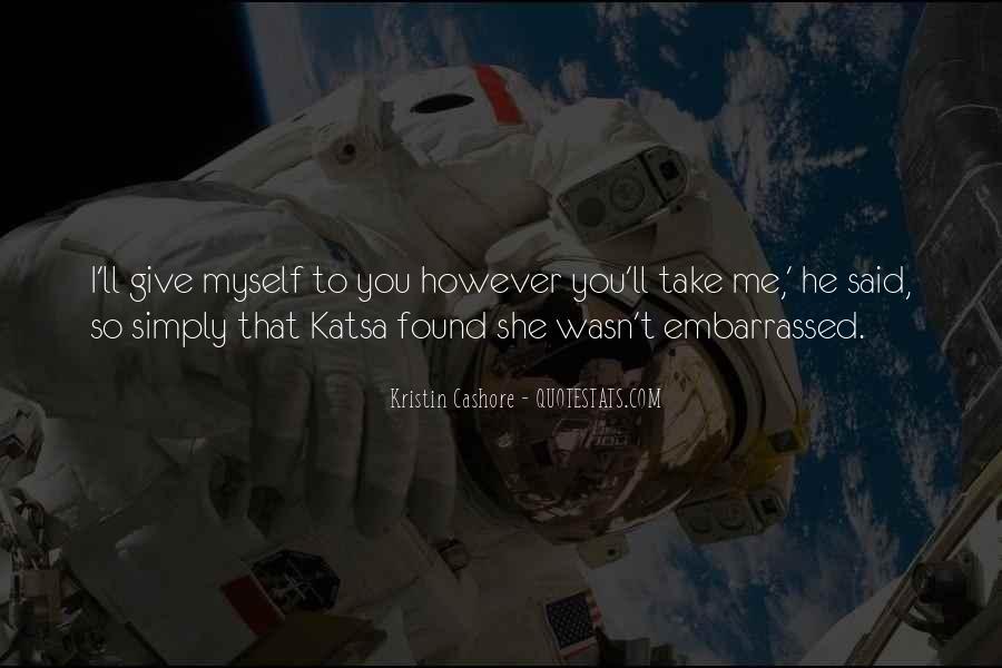 Quotes About Katsa #1022486