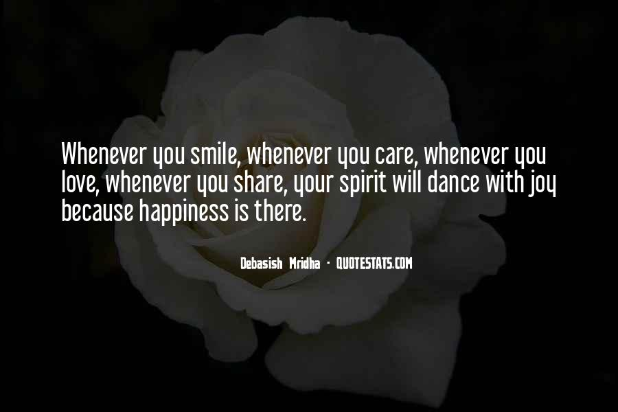 Dance With Your Love Quotes #1090845