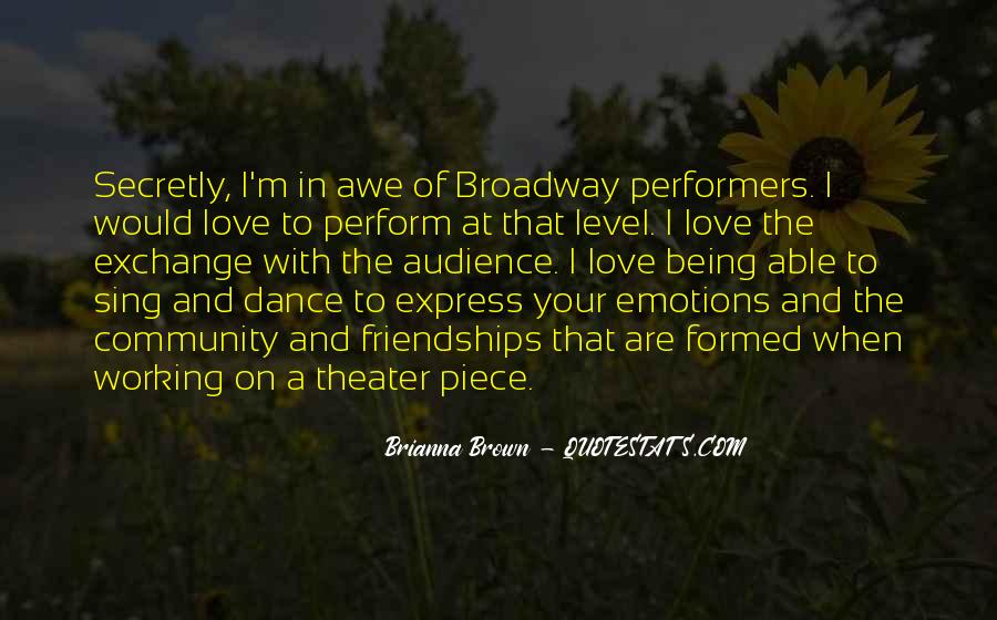 Dance With Your Love Quotes #1637608