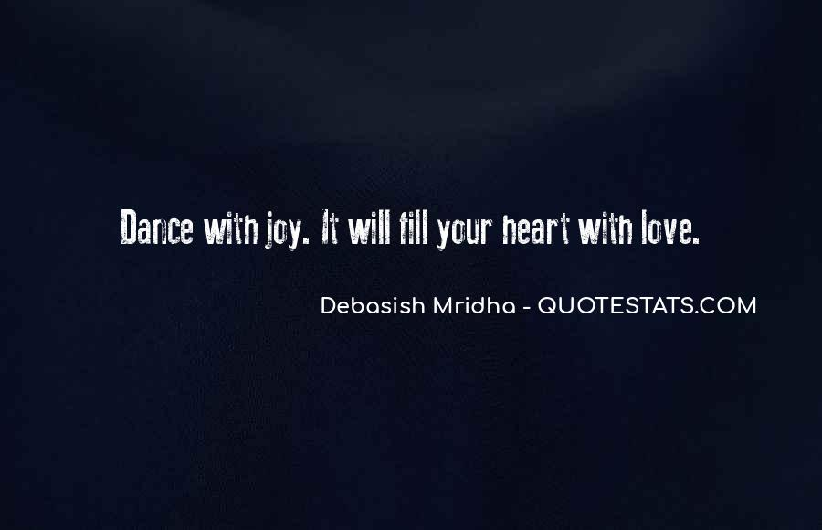 Dance With Your Love Quotes #1731293