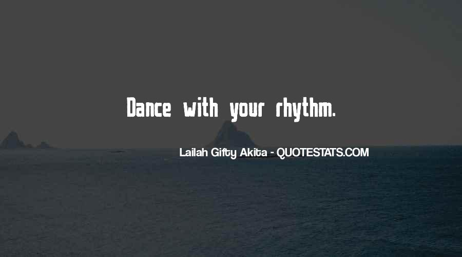 Dance With Your Love Quotes #1754777