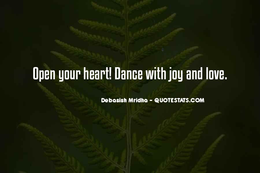 Dance With Your Love Quotes #328669