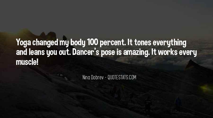 Dancer Pose Yoga Quotes #1828206