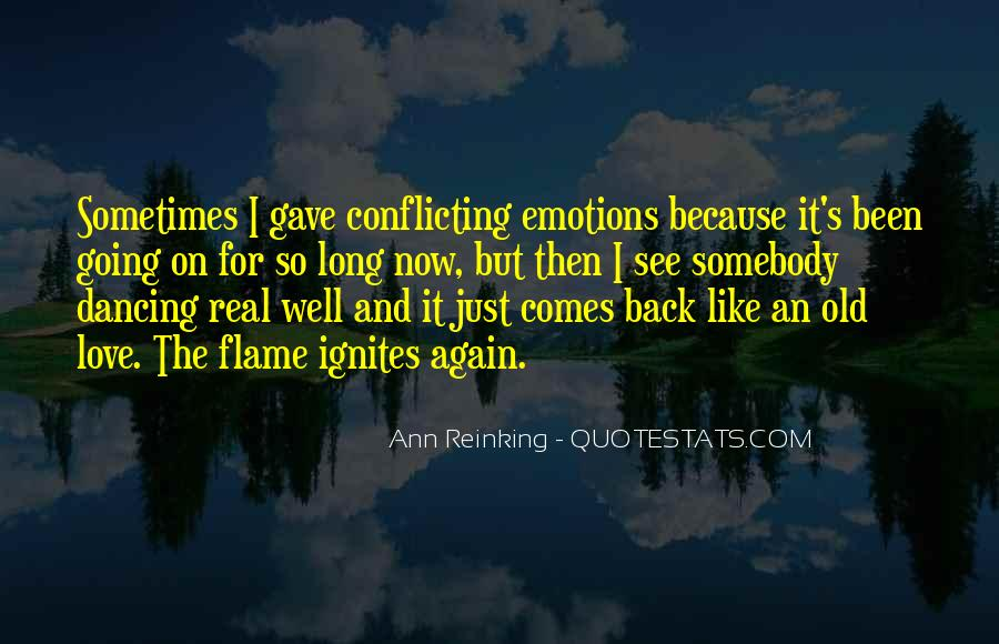 Dancing In The Flames Quotes #1433218