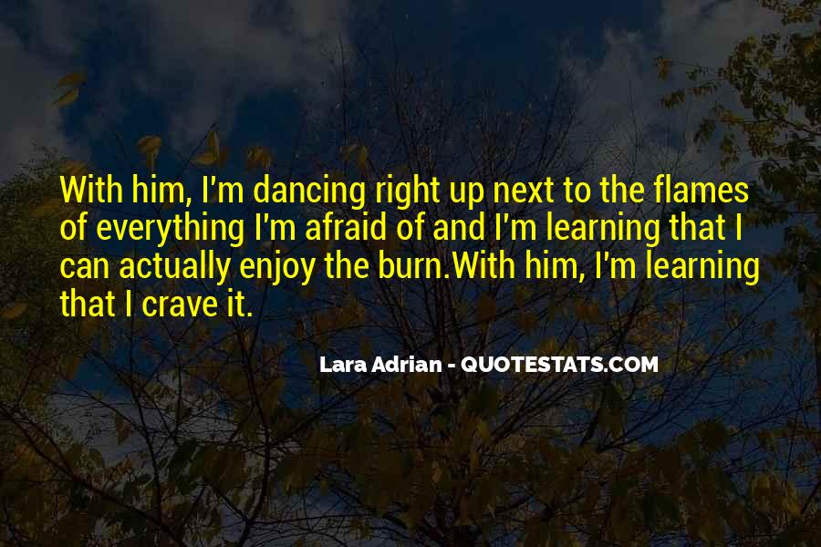 Dancing In The Flames Quotes #1790596