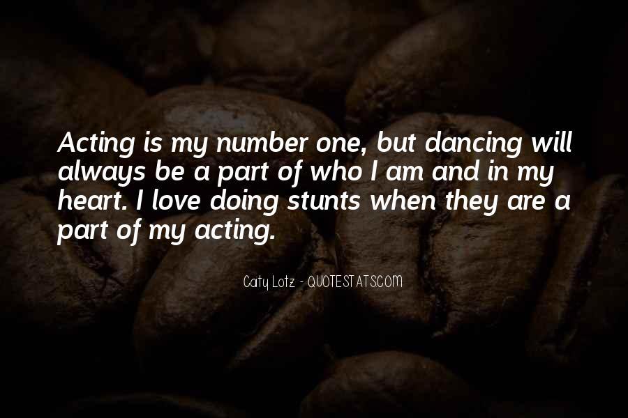 Dancing Stunts Quotes #520135