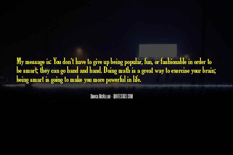 Danica Quotes #1062417
