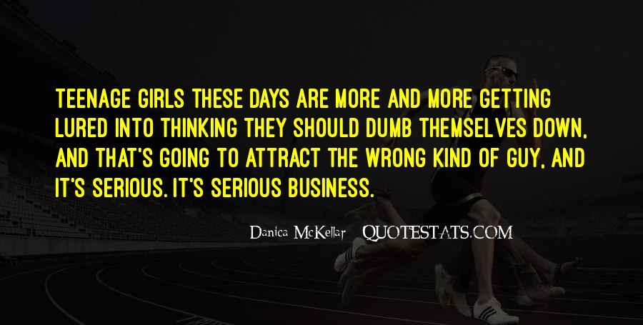 Danica Quotes #746953