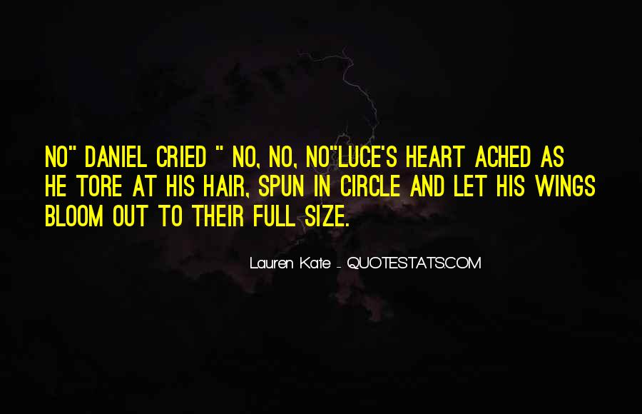 Daniel And Luce Quotes #1388054