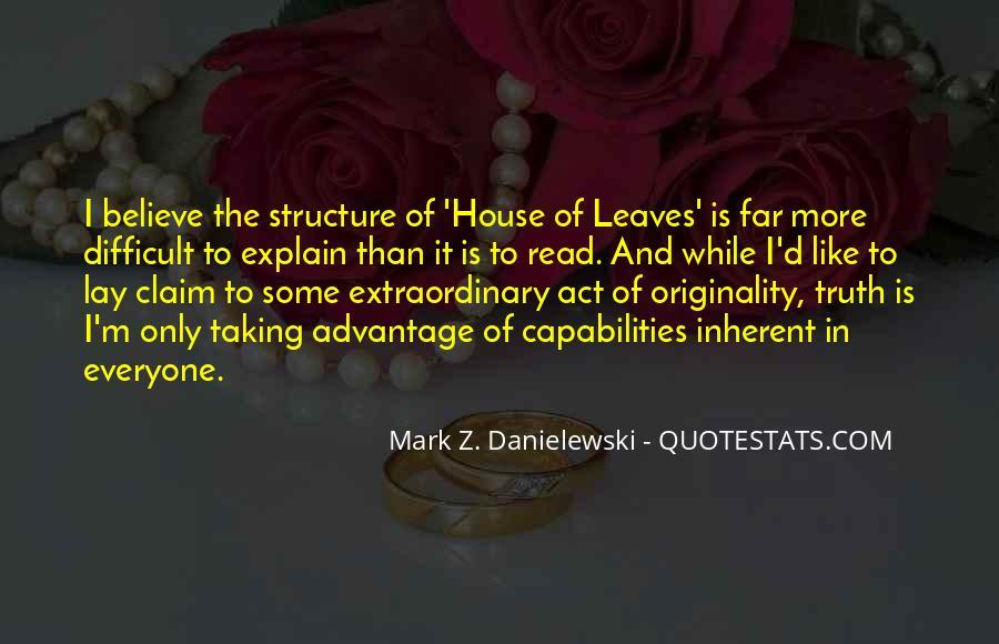 Danielewski Quotes #1130888
