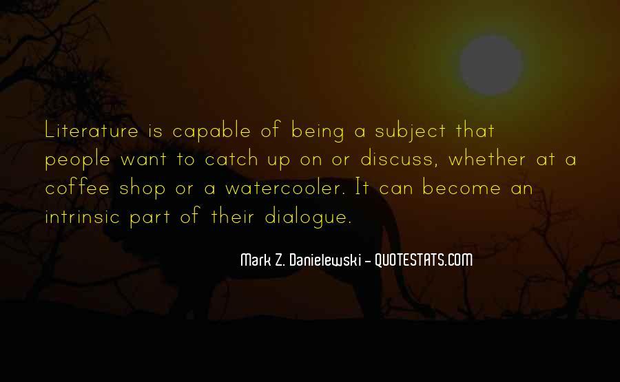 Danielewski Quotes #246966