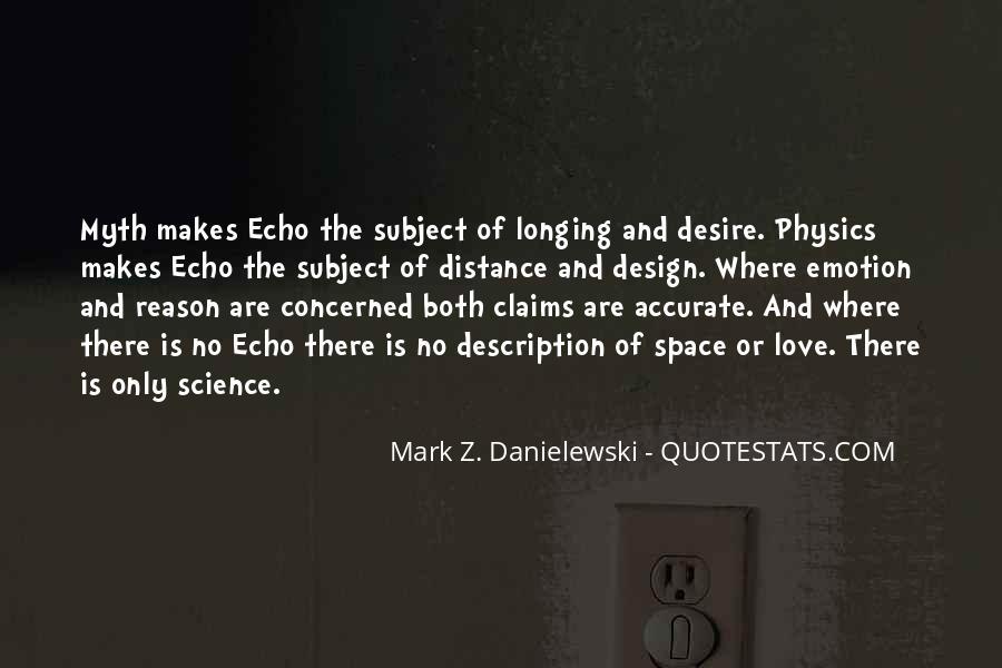 Danielewski Quotes #611897