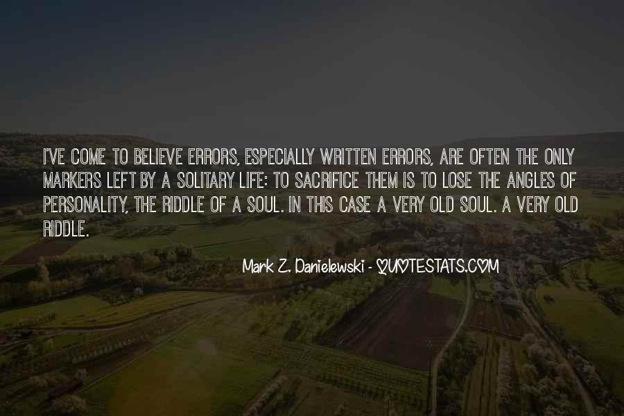 Danielewski Quotes #898655
