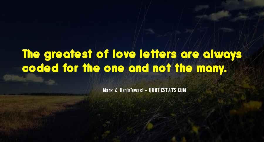 Danielewski Quotes #967636