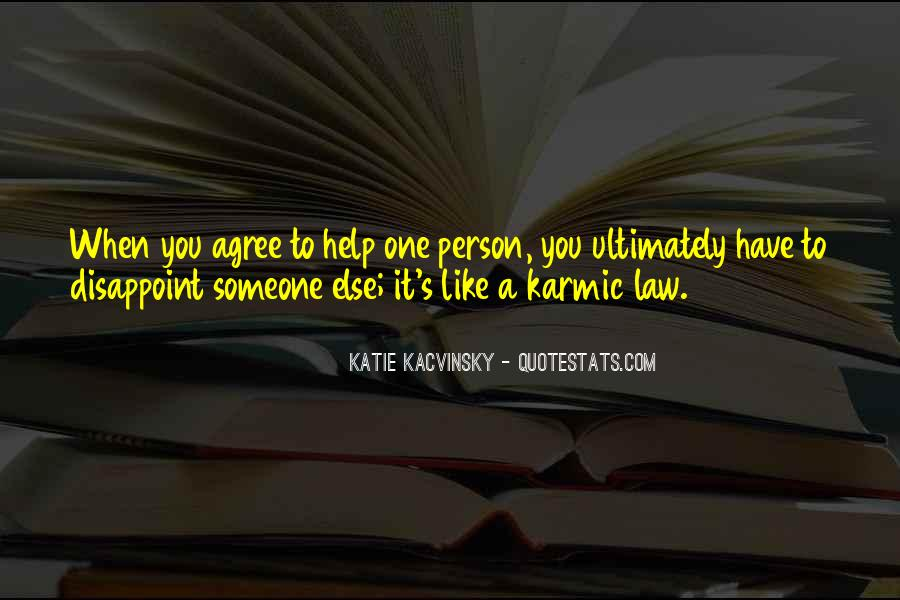 Quotes About Karmic #295464