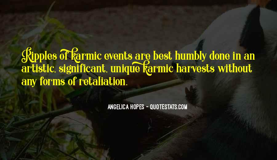 Quotes About Karmic #338940