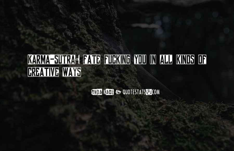 Quotes About Karma And Fate #118215