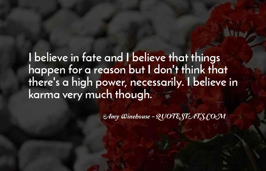 Quotes About Karma And Fate #1297087