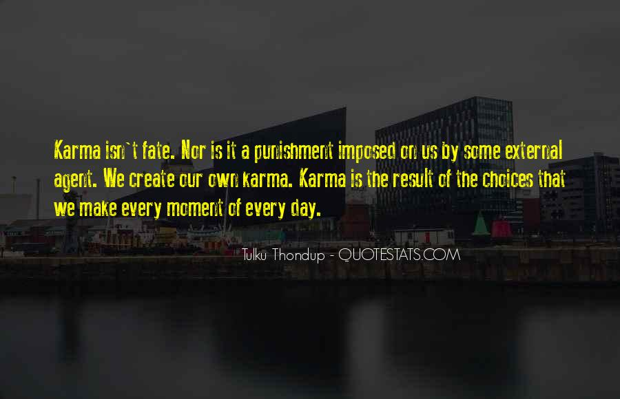 Quotes About Karma And Fate #255988