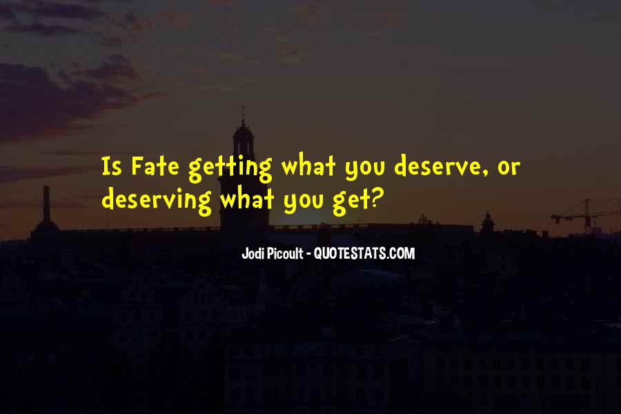 Quotes About Karma And Fate #386756