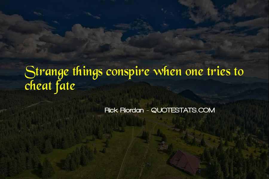 Quotes About Karma And Fate #79506