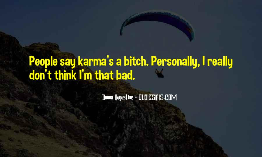 Quotes About Karma And Fate #845276