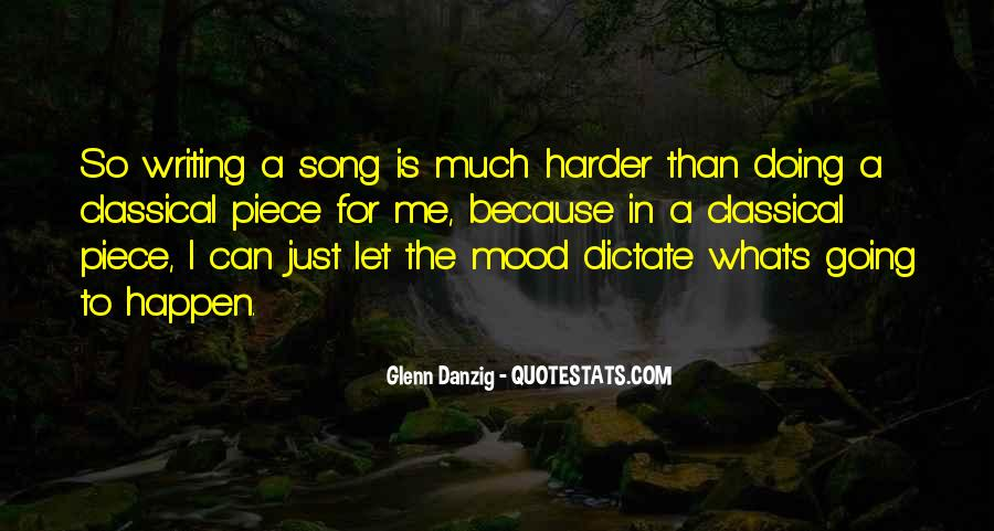 Danzig Song Quotes #157054