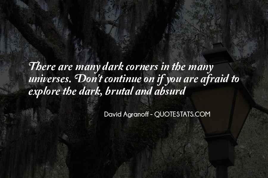 Dark Brutal Quotes #722114