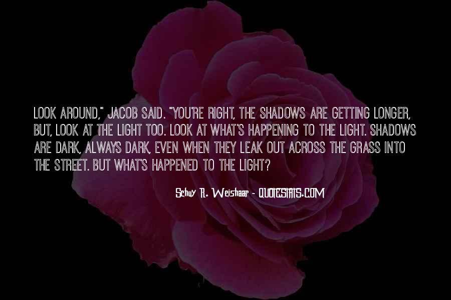 Dark Into Light Quotes #1247976