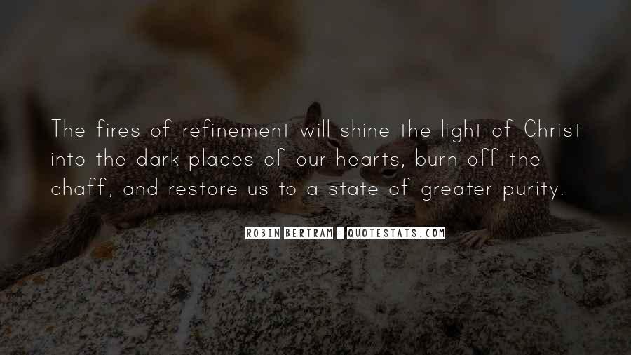 Dark Into Light Quotes #8618