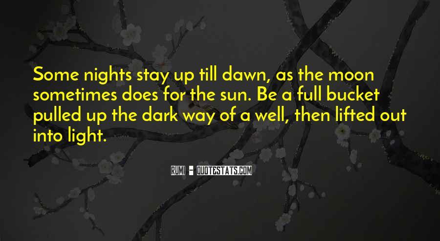 Dark Into Light Quotes #982639