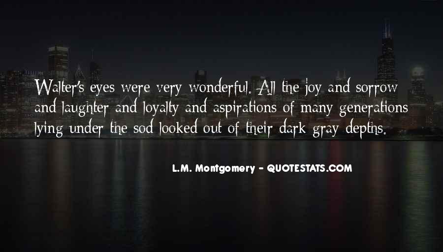 Dark Sorrow Quotes #1114844