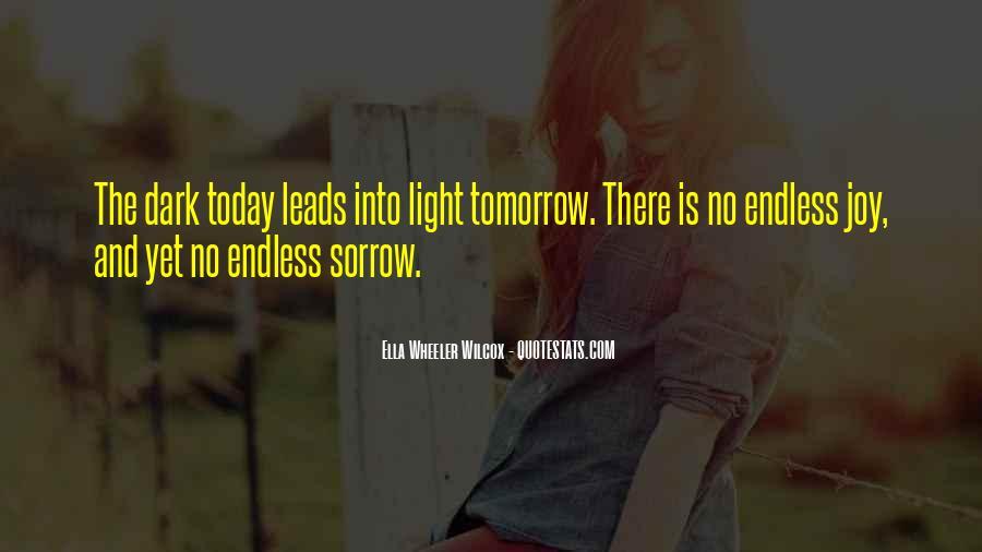 Dark Sorrow Quotes #1152775