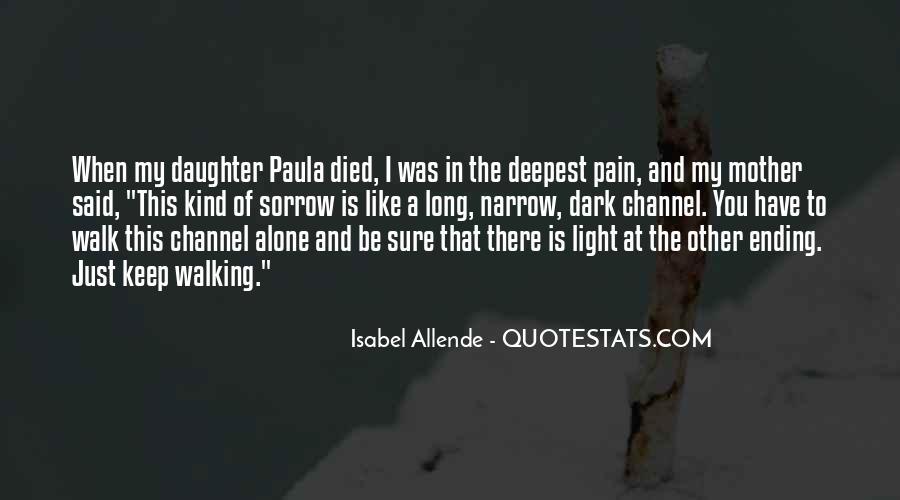 Dark Sorrow Quotes #128566