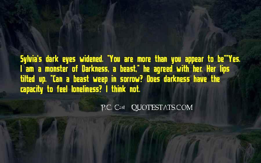 Dark Sorrow Quotes #1653707