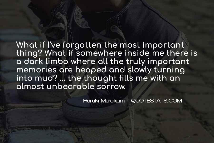 Dark Sorrow Quotes #213174