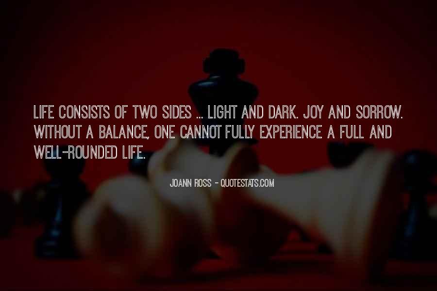 Dark Sorrow Quotes #284400