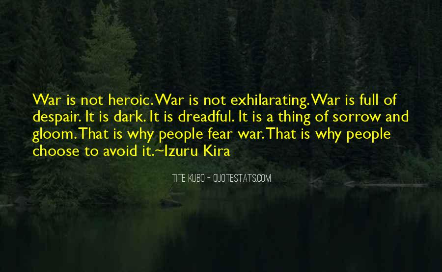 Dark Sorrow Quotes #381237