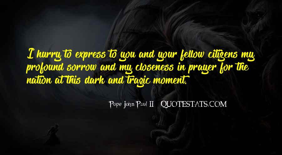 Dark Sorrow Quotes #800201