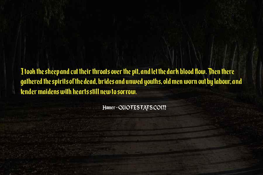 Dark Sorrow Quotes #84835