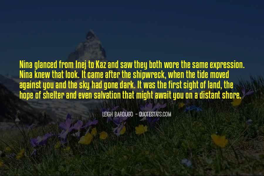 Dark Tide Quotes #1022779
