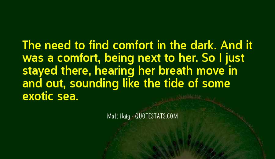 Dark Tide Quotes #1342181