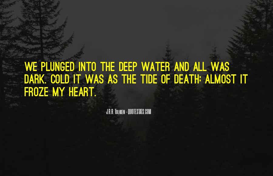 Dark Tide Quotes #650997