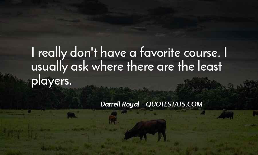 Darrell Quotes #19297